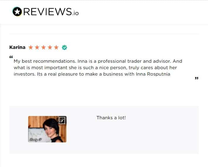 managed futures reviews Inna Rosputnia