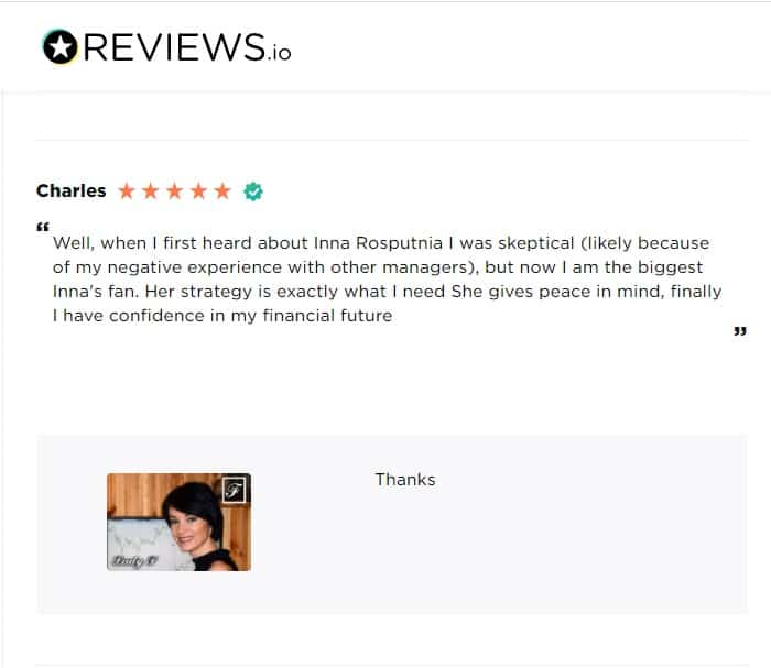 Verified Lady f managed accounts reviews and success stories