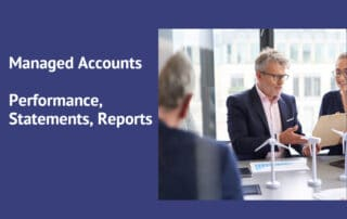 managed accounts performance statements