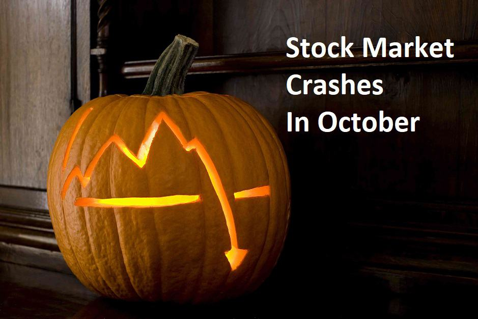 stock market crashes in october